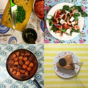 Algunas fotos de El Recetario con El Papel de tu mesa
