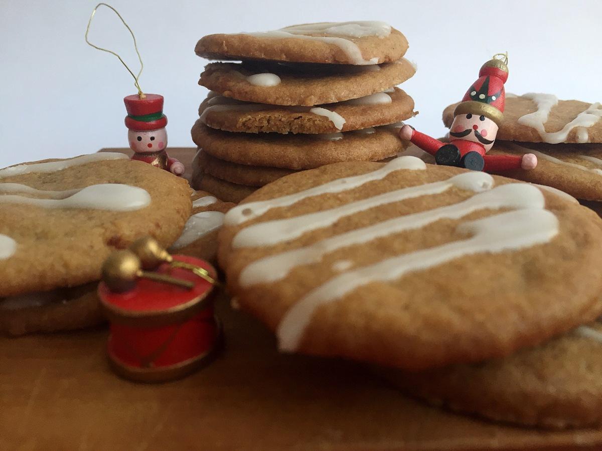 Galletas de chancaca y sabores navideños